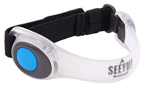 It\'s running SeeYu LED Armband, Blue, 4250719507369