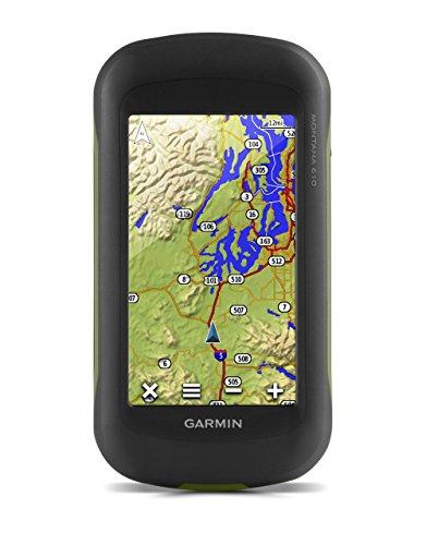 Garmin Montana 610 Outdoor-Navigationsgerät mit hochauflösendem 4'' Touchscreen-Display und ANT+ Konnektivität