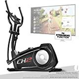 Sportstech CX2 Crosstrainer für Zuhause | mit Stromgenera...