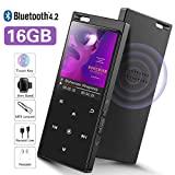 SuperEye 16GB Bluetooth 4.2 MP3 Player mit Lautsprecher,1....