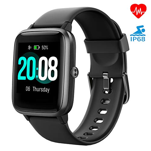 Smartwatch, LIFEBEE Fitness Armband Fitness Tracker Voller Touch Screen Smart Watch IP68 Wasserdicht Fitness Uhr mit Pul...