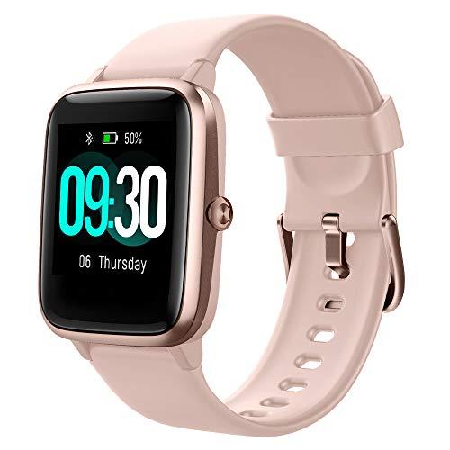 Willful Smartwatch,1.3 Zoll Touch-Farbdisplay Fitness Armbanduhr mit Pulsuhr Fitness Tracker IP68 Wasserdicht Sportuhr S...