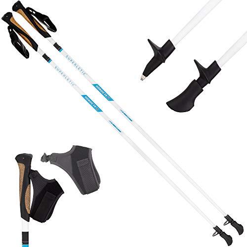 SUPERLETIC Nordic FX 10 Essential Nordic Walking Stöcke 10{03d77fe807ae283391eb47498d7f38e99ad8374ed5c0f9a947dd5ae5e8a8...