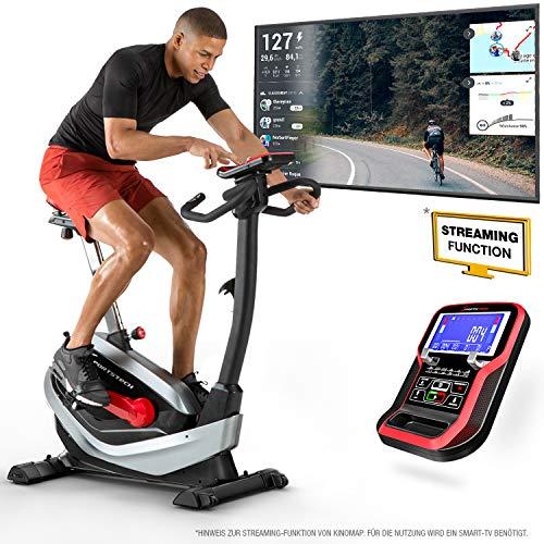 Sportstech ESX550 Premium Design 2020 Ergometer | Deutsche Qualitätsmarke | Video Events & Multiplayer APP | Magnetbrem...