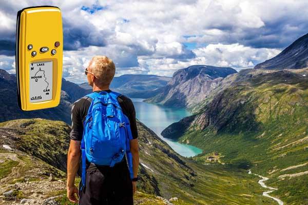 GPS-Handgerät für Wanderungen etc.