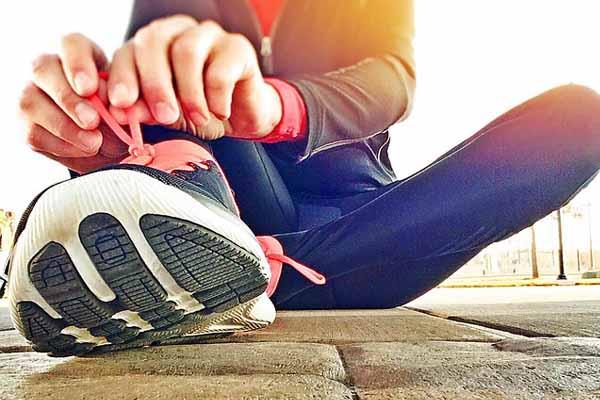 Joginganzug für den Laufsport