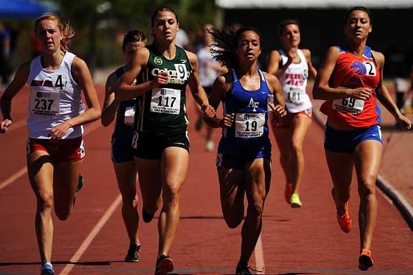 Laufsport-Wettkampf