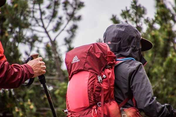 Trekking-Tour in voller Montur